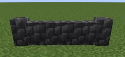 深層岩の丸石の塀の使い道