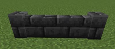 深層岩レンガの塀の使い道