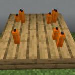 【マイクラ(JE)】橙色のろうそくの入手方法と使い道を解説(あかまつんのマインクラフト)