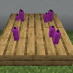 【マイクラ(JE)】赤紫色のろうそくの入手方法と使い道を解説(あかまつんのマインクラフト)