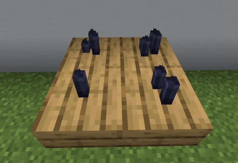 【マイクラ(JE)】黒色のろうそくの入手方法と使い道を解説(もさもさのマインクラフト)