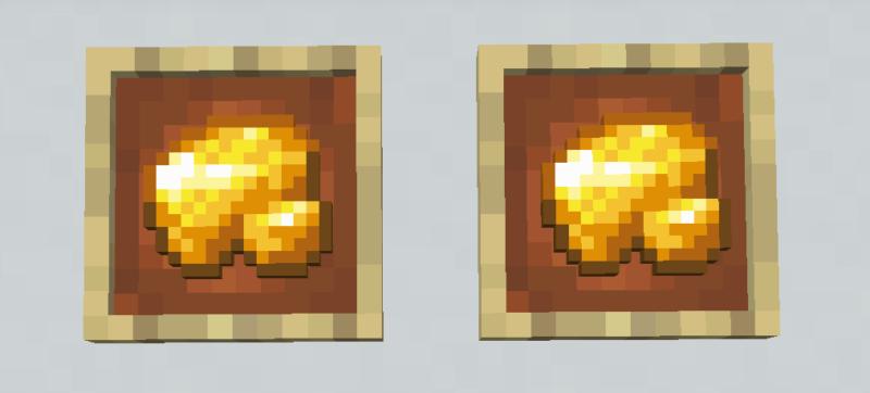 【マイクラ(JE)】金の原石の入手方法と2つの使い道を解説(もさもさのマインクラフト)
