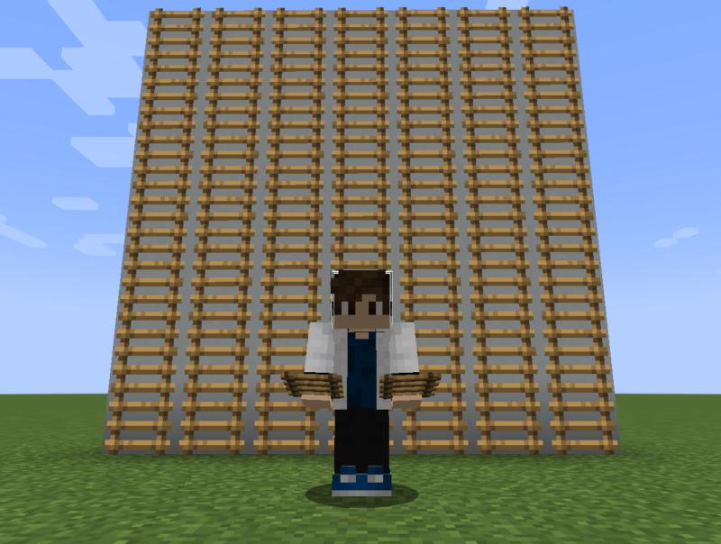 【マイクラ(JE)】はしごの入手方法と使い道を解説(あかまつんのマインクラフト)