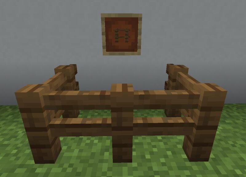 【マイクラ(JE)】トウヒのフェンスの入手方法と使い道を解説(あかまつんのマインクラフト)