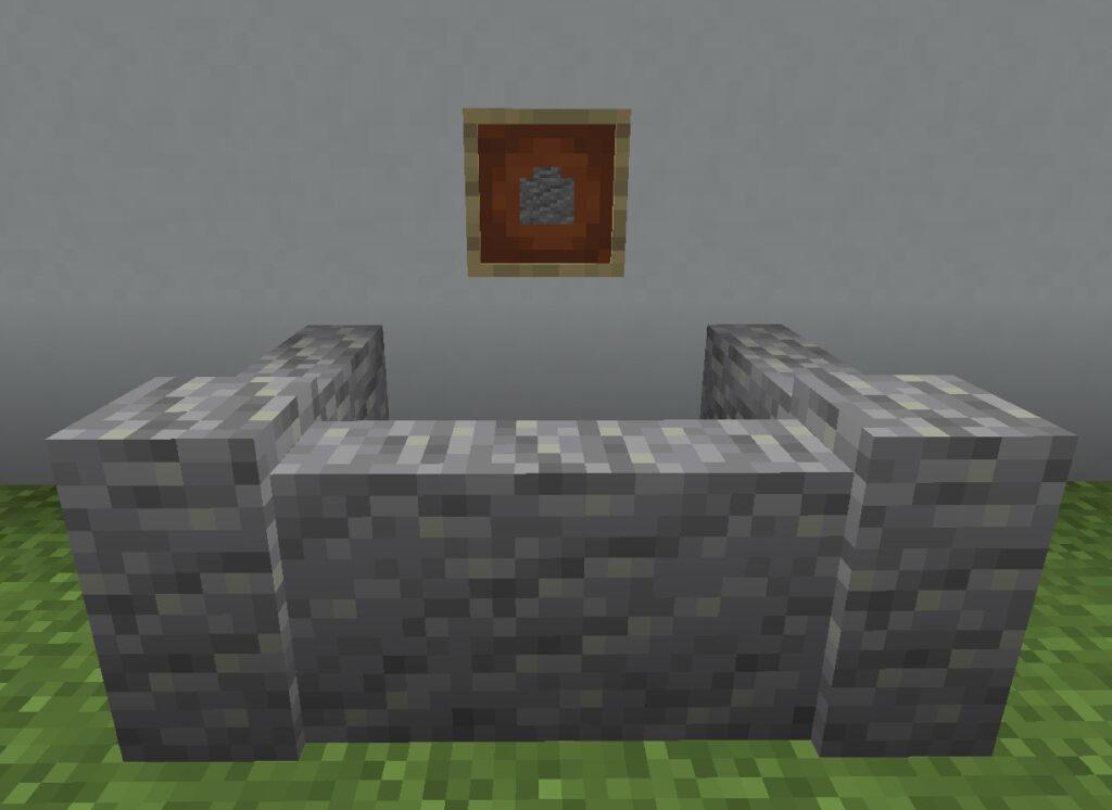 【マイクラ(JE)】安山岩の塀の入手方法と使い道を解説(あかまつんのマインクラフト)