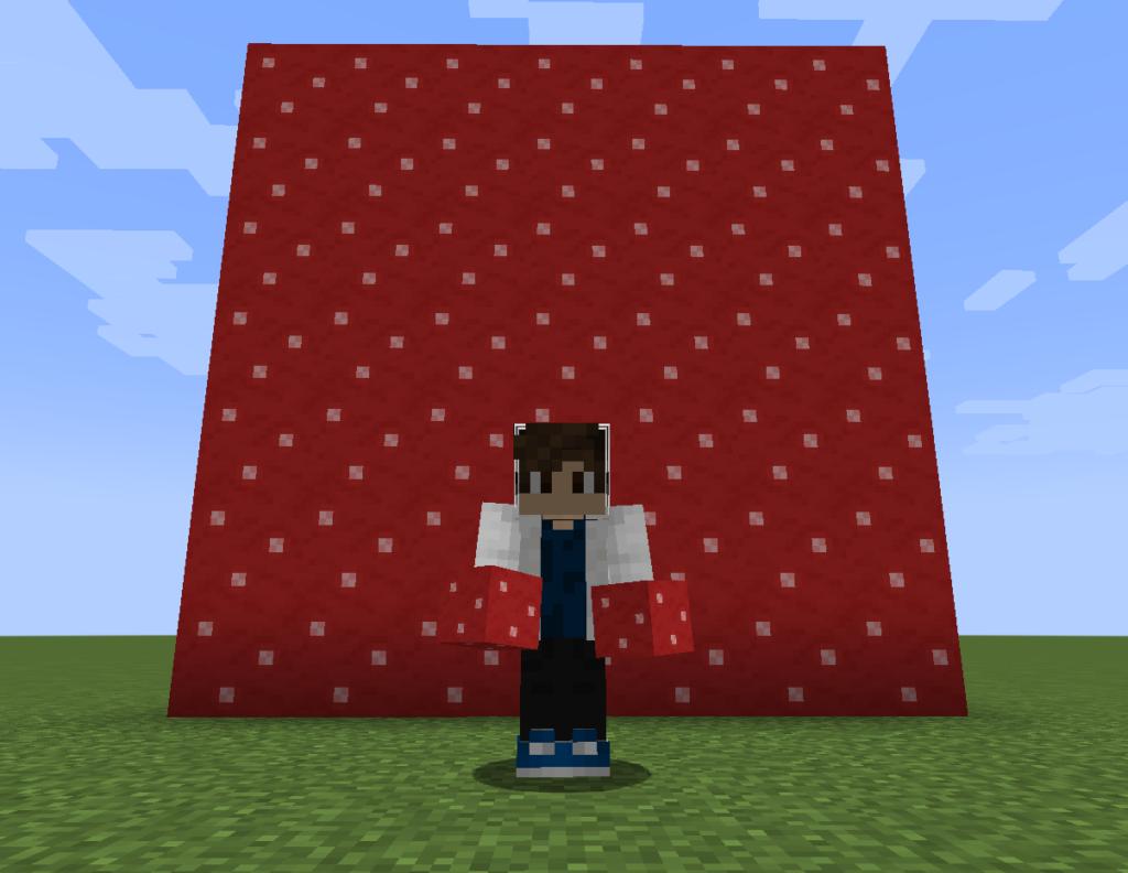 【マイクラ(JE)】赤色のキノコブロックの入手方法と使い道を解説(あかまつんのマインクラフト)