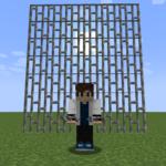 【マイクラ(JE)】鉄格子の入手方法と使い道を解説(あかまつんのマインクラフト)