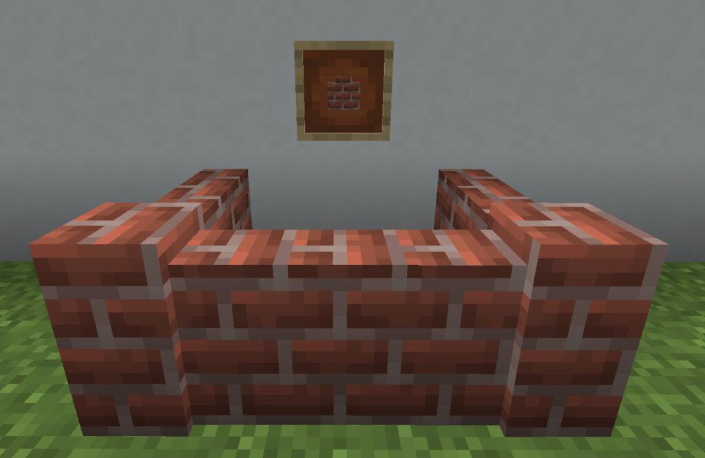 【マイクラ(JE)】レンガの塀の入手方法と使い道を解説(あかまつんのマインクラフト)