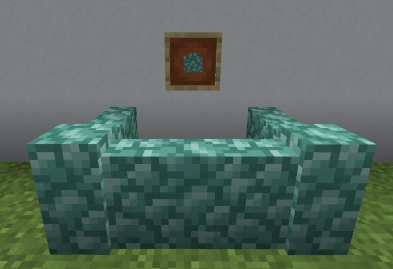 【マイクラ(JE)】プリズマリンの塀の入手方法と使い道を解説(あかまつんのマインクラフト)