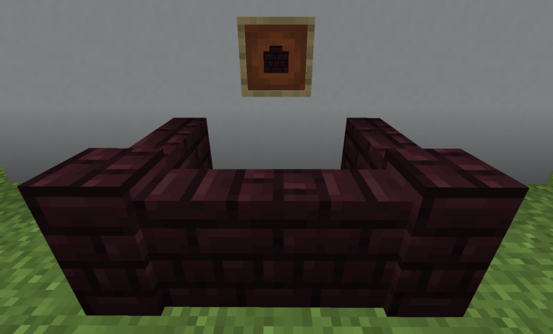 【マイクラ(JE)】ネザーレンガの塀の入手方法と使い道を解説(あかまつんのマインクラフト)