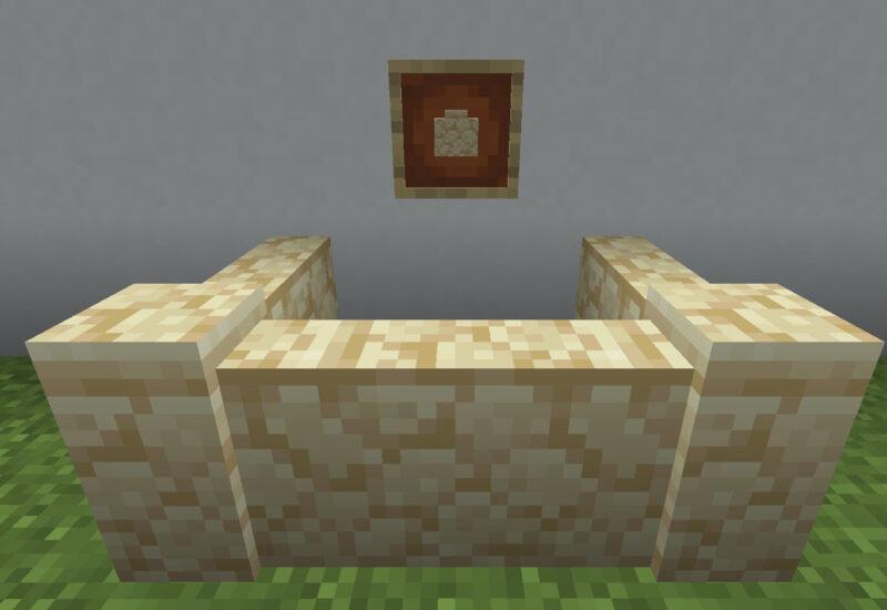 【マイクラ(JE)】砂岩の塀の入手方法と使い道を解説(あかまつんのマインクラフト)