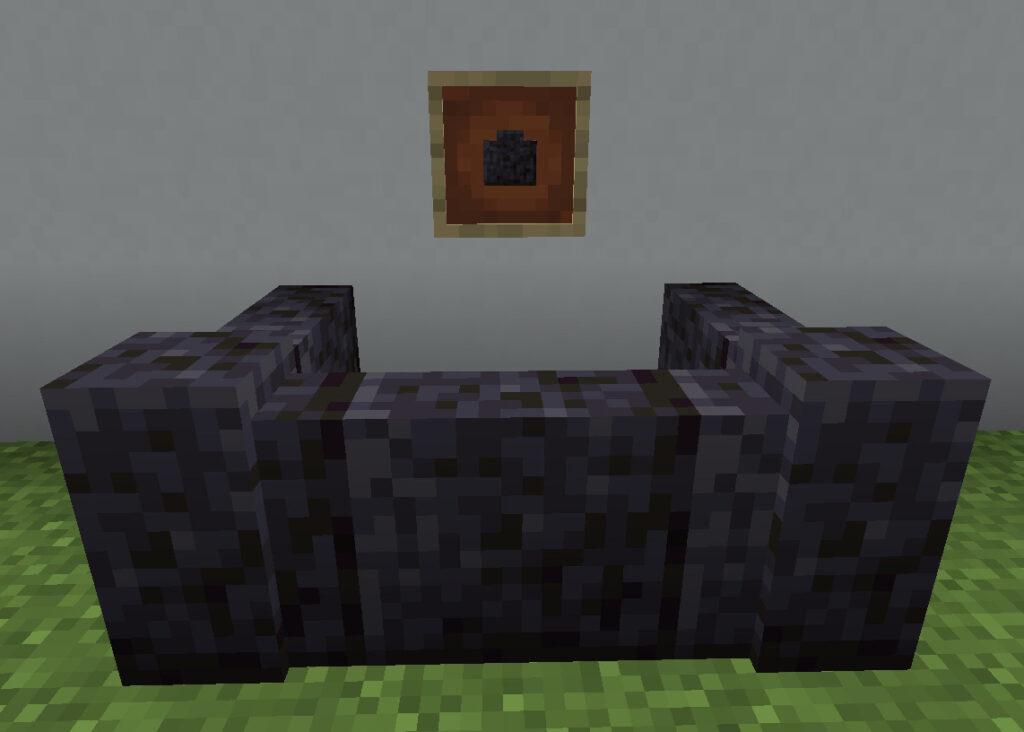 【マイクラ(JE)】磨かれたブラックストーンの塀の入手方法と使い道を解説(あかまつんのマインクラフト)