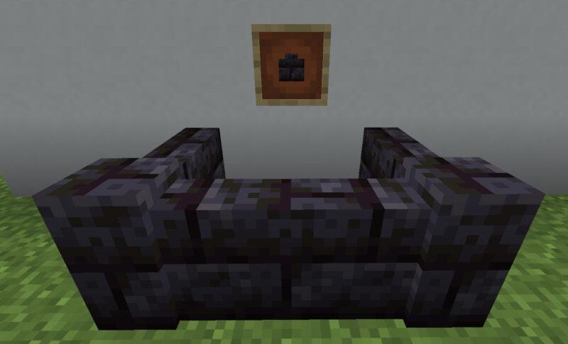 【マイクラ(JE)】磨かれたブラックストーンレンガの塀の入手方法と使い道を解説(あかまつんのマインクラフト)
