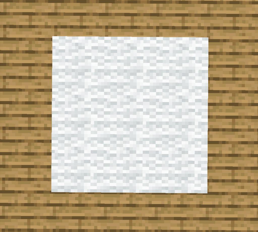 【マイクラ(JE)】白色のカーペットの入手方法と使い道を解説(あかまつんのマインクラフト)