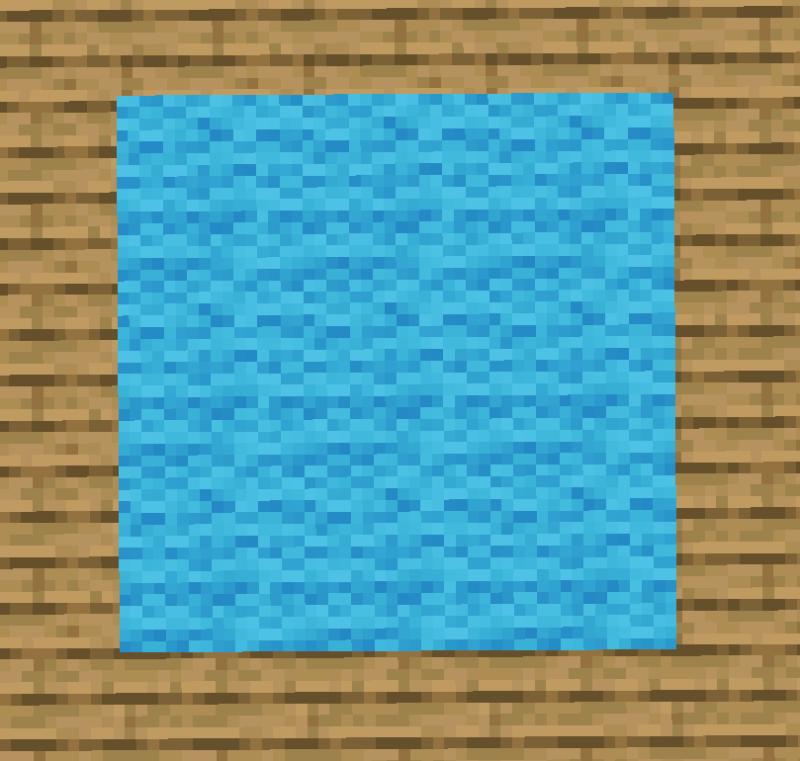 【マイクラ(JE)】空色のカーペットの入手方法と使い道を解説(あかまつんのマインクラフト)