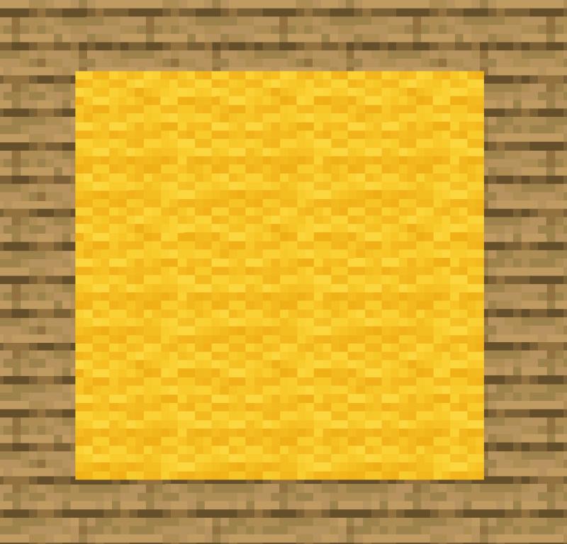 【マイクラ(JE)】黄色のカーペットの入手方法と使い道を解説(あかまつんのマインクラフト)