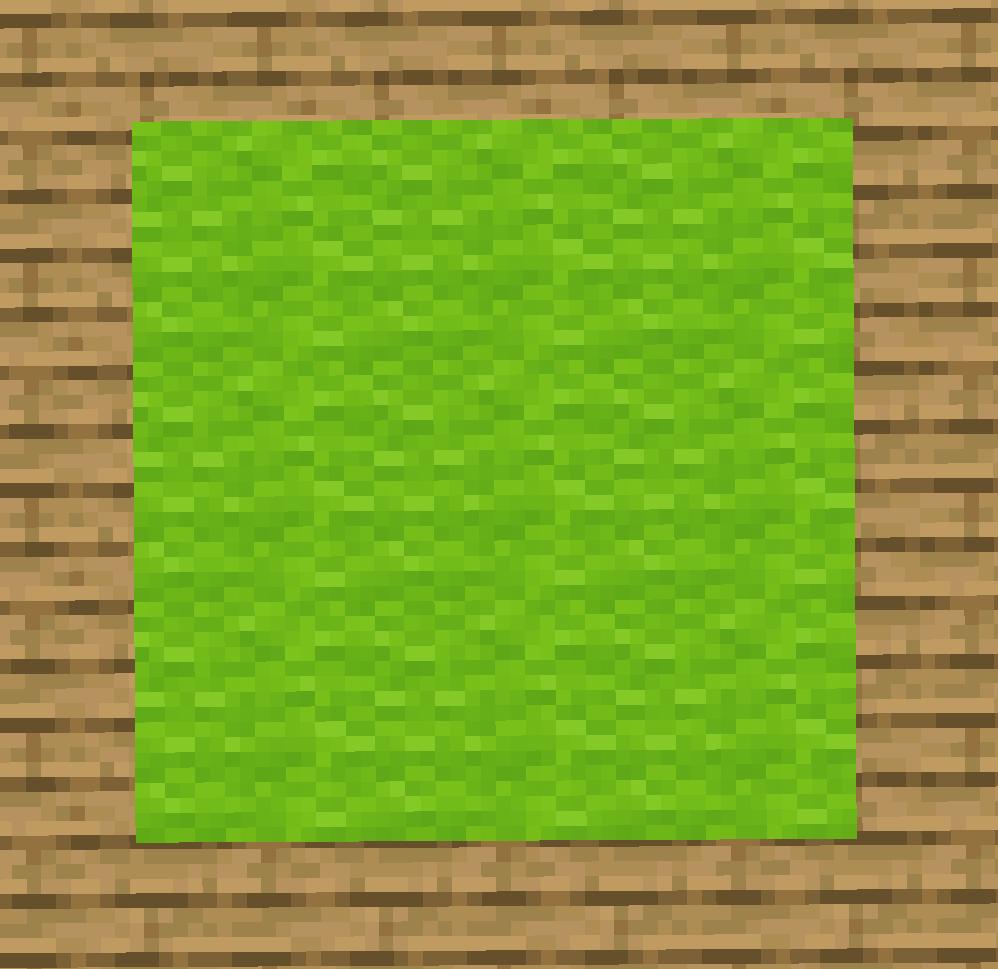 【マイクラ(JE)】黄緑色のカーペットの入手方法と使い道を解説(あかまつんのマインクラフト)