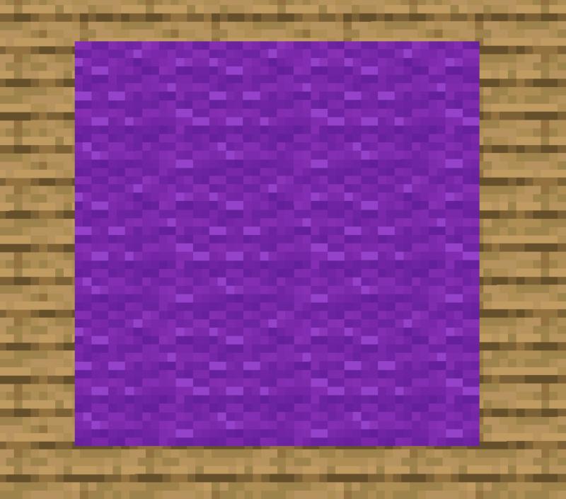 【マイクラ(JE)】紫色のカーペットの入手方法と使い道を解説(あかまつんのマインクラフト)