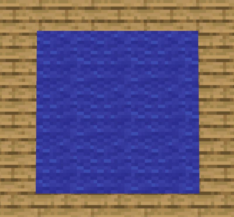 【マイクラ(JE)】青色のカーペットの入手方法と使い道を解説(あかまつんのマインクラフト)