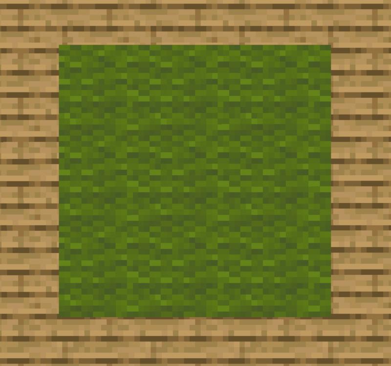 【マイクラ(JE)】緑色のカーペットの入手方法と使い道を解説(あかまつんのマインクラフト)