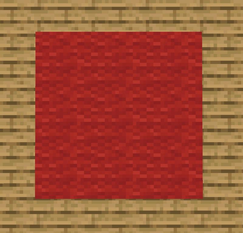 【マイクラ(JE)】赤色のカーペットの入手方法と使い道を解説(あかまつんのマインクラフト)