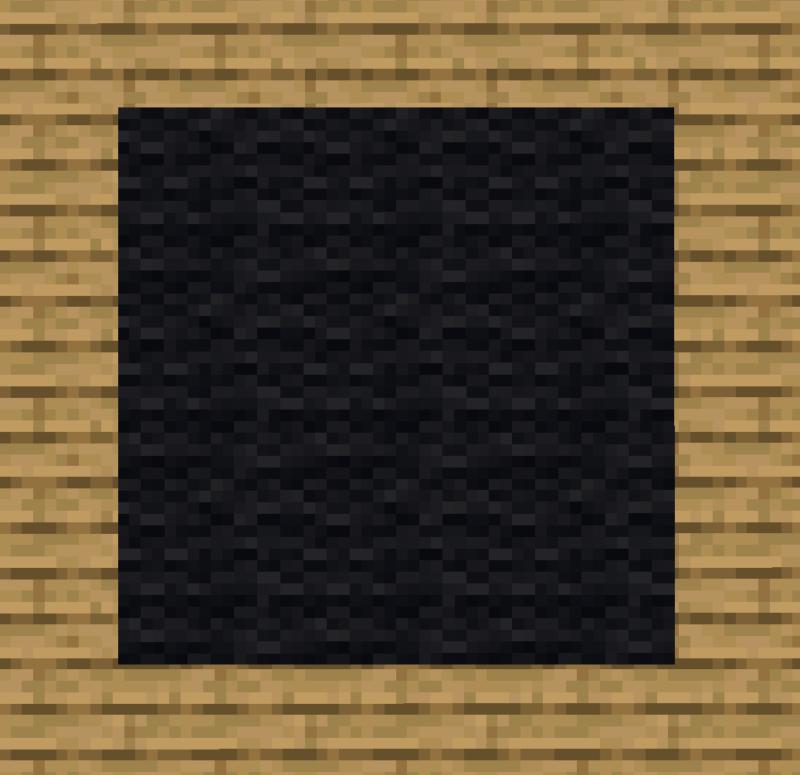 【マイクラ(JE)】黒色のカーペットの入手方法と使い道を解説(あかまつんのマインクラフト)