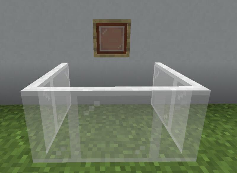 【マイクラ(JE)】白色の色付きガラス板の入手方法と使い道を解説(あかまつんのマインクラフト)