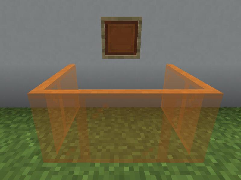 【マイクラ(JE)】橙色の色付きガラス板の入手方法と使い道を解説(あかまつんのマインクラフト)