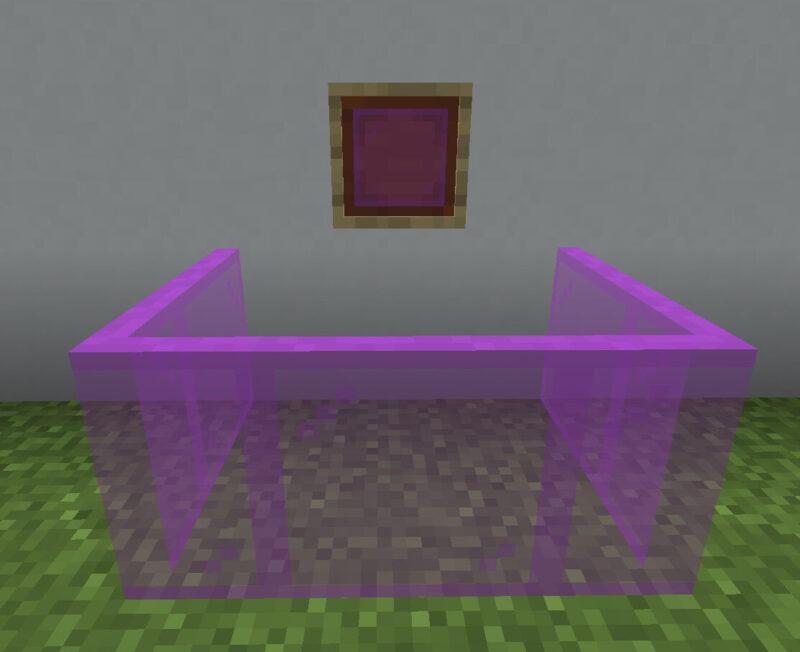 【マイクラ(JE)】赤紫色の色付きガラス板の入手方法と使い道を解説(あかまつんのマインクラフト)