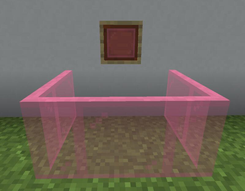 【マイクラ(JE)】桃色の色付きガラス板の入手方法と使い道を解説(あかまつんのマインクラフト)