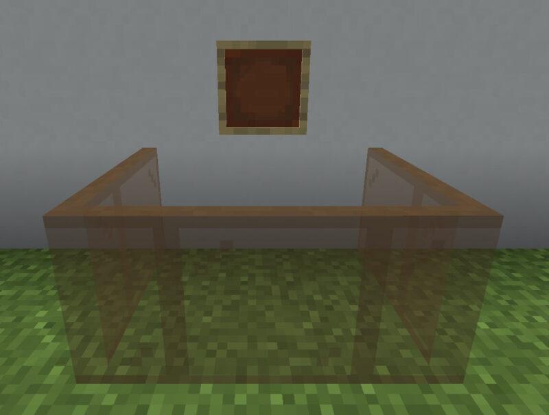 【マイクラ(JE)】茶色の色付きガラス板の入手方法と使い道を解説(あかまつんのマインクラフト)